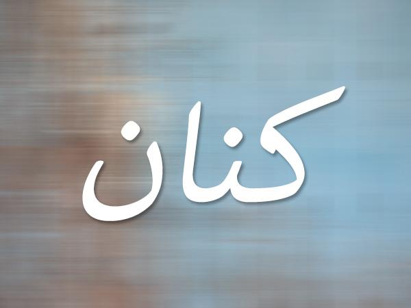 معنى اسم كنان في اللغة العربية