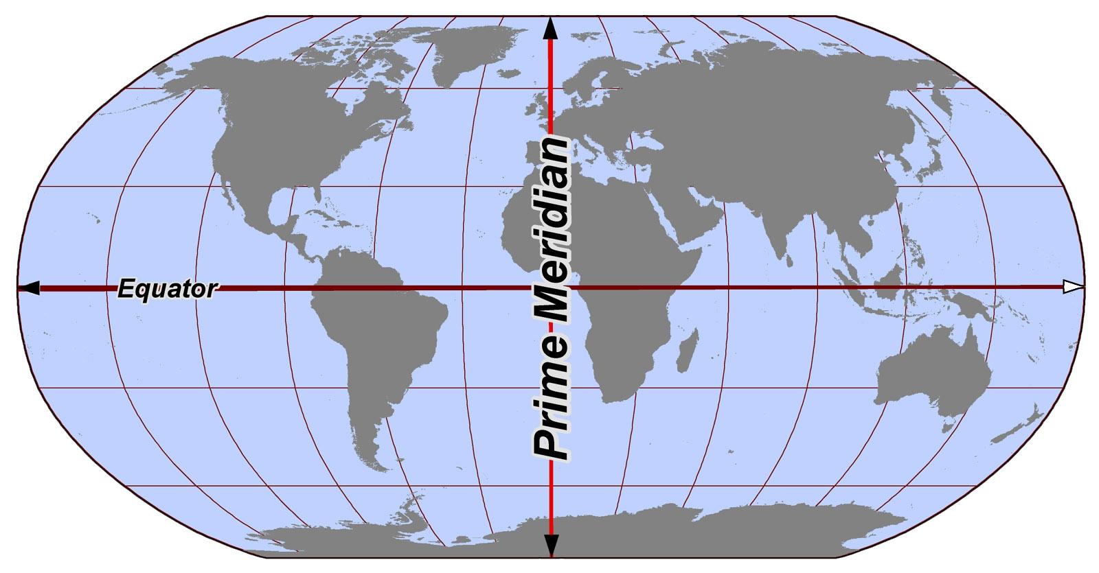 خط وهمي يصل بين أبعد نقطتين على دائرة الاستواء يمر بمركز الأرض هو