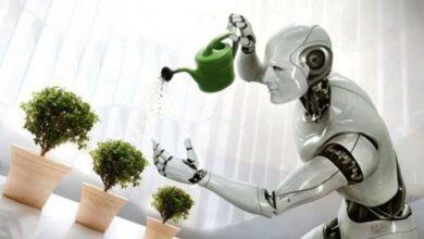 المكون المسؤول في الروبوت عن التحكم بجميع اجزاءه هو