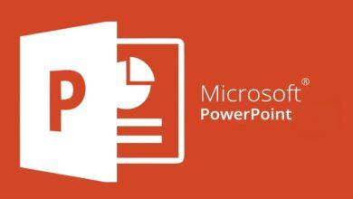 برنامج من انتاج شركة مايكروسوفت ويعد من أشهر برامج انشاء العروض التقديمية