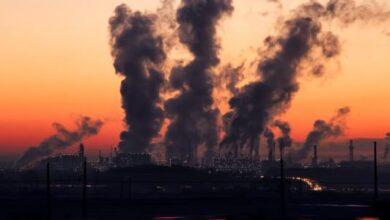 مظاهر تلوث البيئي تلوث الهواء وينتج عنه