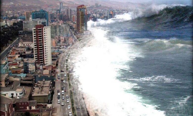 سبب حدوث التسونامي في المحيطات