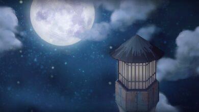 في الفترة التي يتحول فيها القمر من محاق إلى بدر، يبدو وكأنه