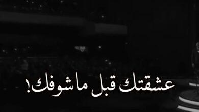 عشقتك قبل ماشوفك كلمات