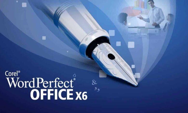 وورد بيرفكت wordperfect برنامج معالجة نصوص