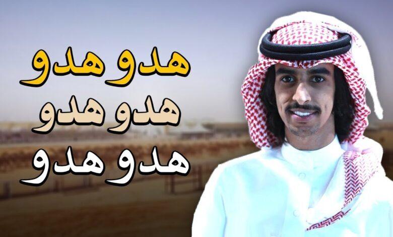 كلمات شيلة هدو هدو