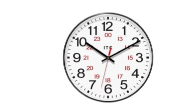 الساعة 16 يعني كم