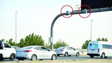 تلتقط كاميرا نظام ساهر صوراً لسيارة تزيد سرعتها عن ٩٠ مترا في ٣ ثوان ،کم سرعه السيارة لحظه التقاط المخالفة المرورية ؟