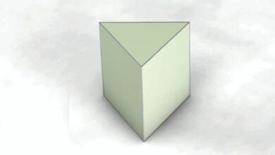 منشور ثلاثي ارتفاعه 8.5 م ، وقاعدته مثلثة الشكل ارتفاعها 14 م ، وطول قاعدتها 5 م ، ما حجم المنشور ؟