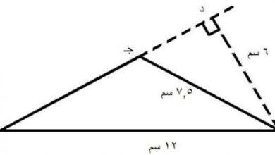 إذا كانت قياسات ثلاثة أضلاع في مثلث هي ٢٤سم، ٧سم، ٢٥سم. فإن المثلث قائم الزاوية.