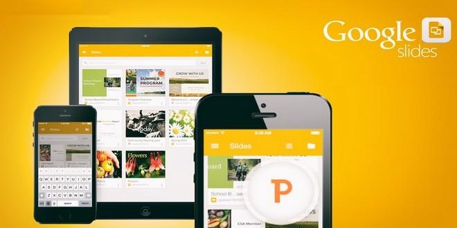 تطبيق مجاني لإنشاء عروض تقديمية حية عبر الإنترنت مقدم من شركة قوقل؟